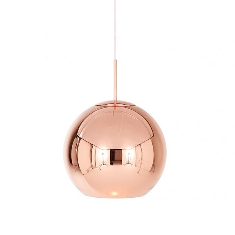 Lustra Cupru Rotund Lamp