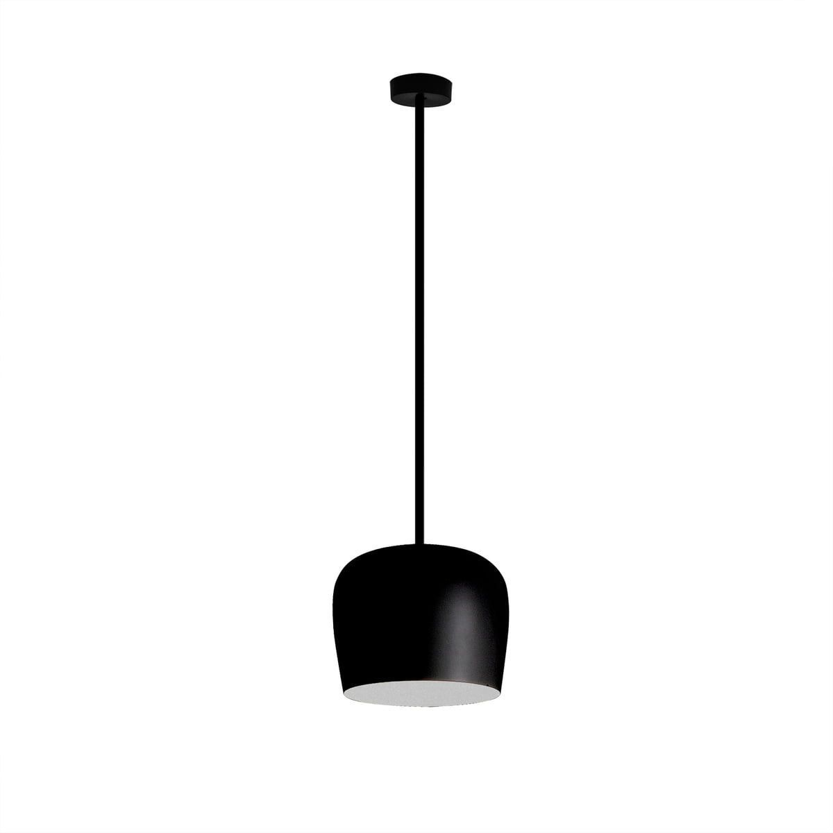 Lustra Led Fix Negru