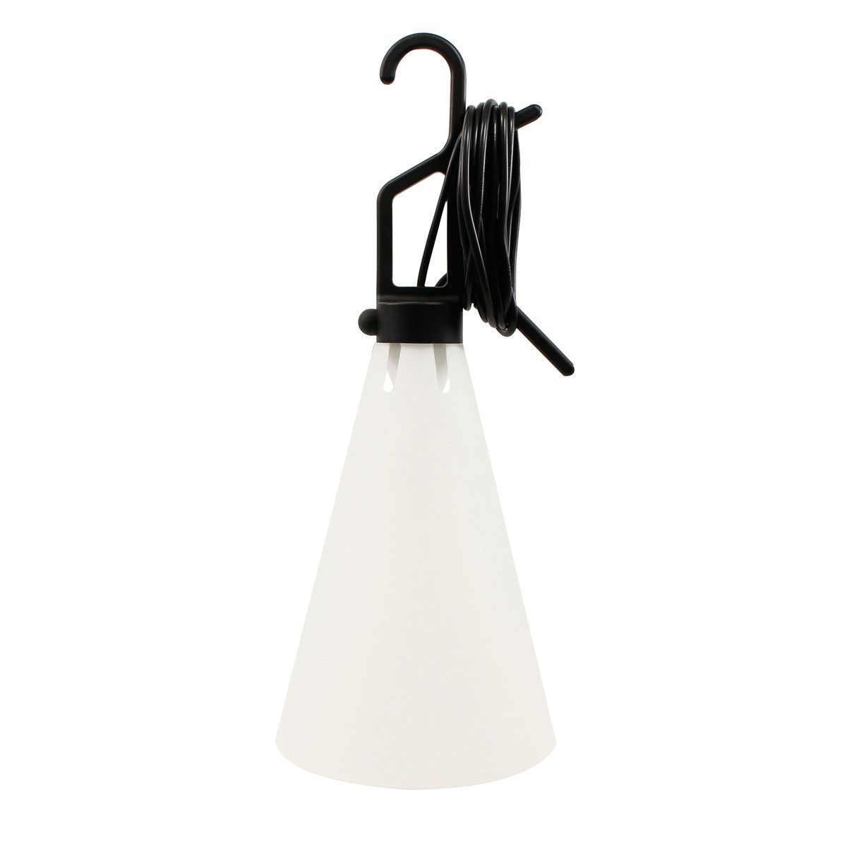 Lustra Multipurpose light Mayday by Flos in black