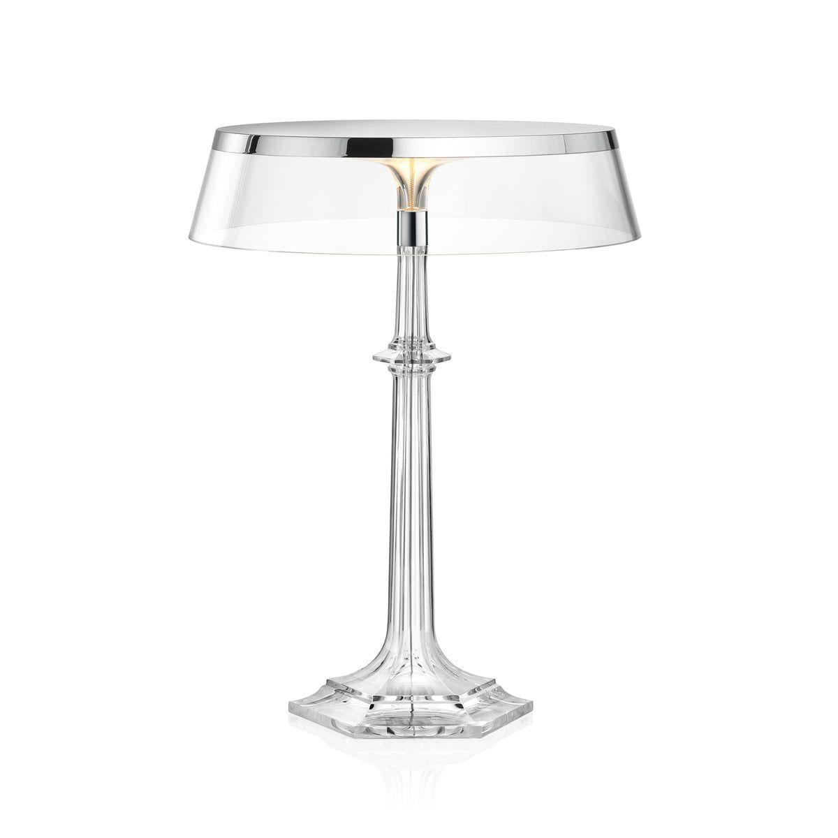 Lampa Birou Led Crom Transparentn