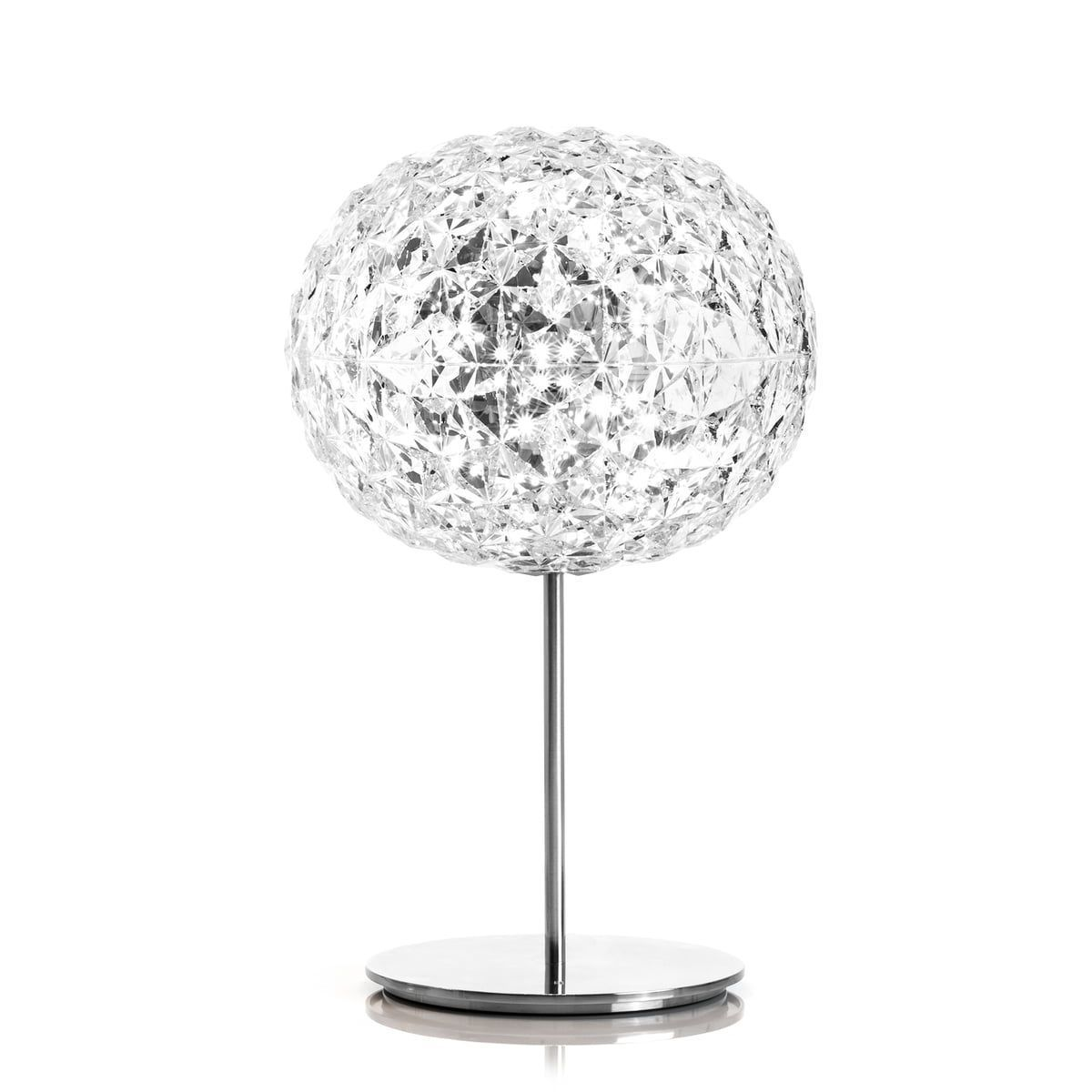Lampa Birou Dimmable Led Baza Cristal Clear