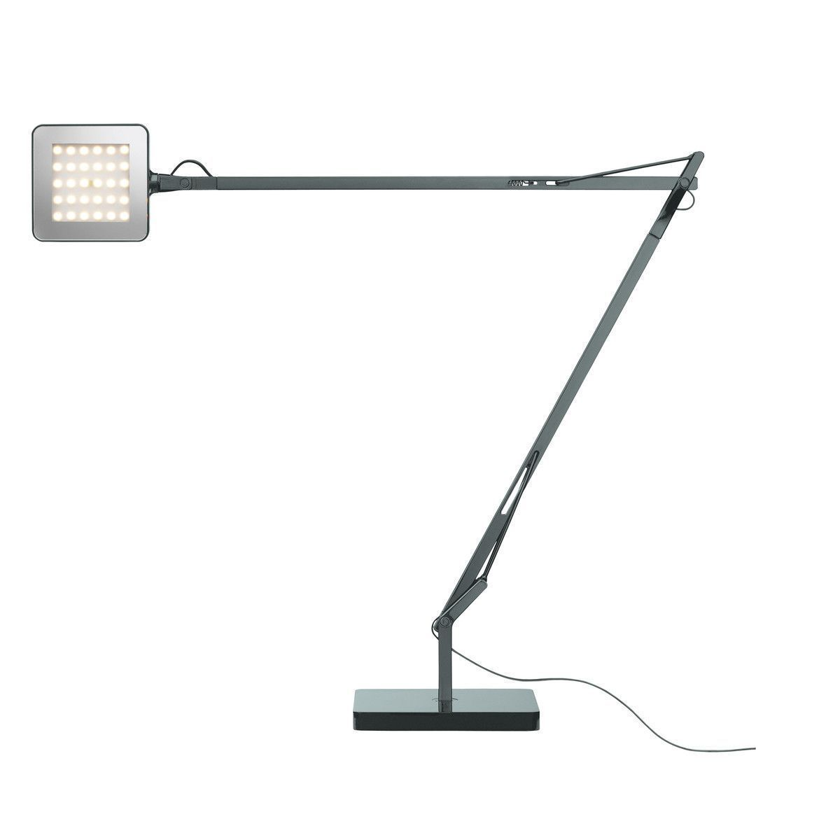 Lampa Birou Led Baza Verde Mode Anthracite