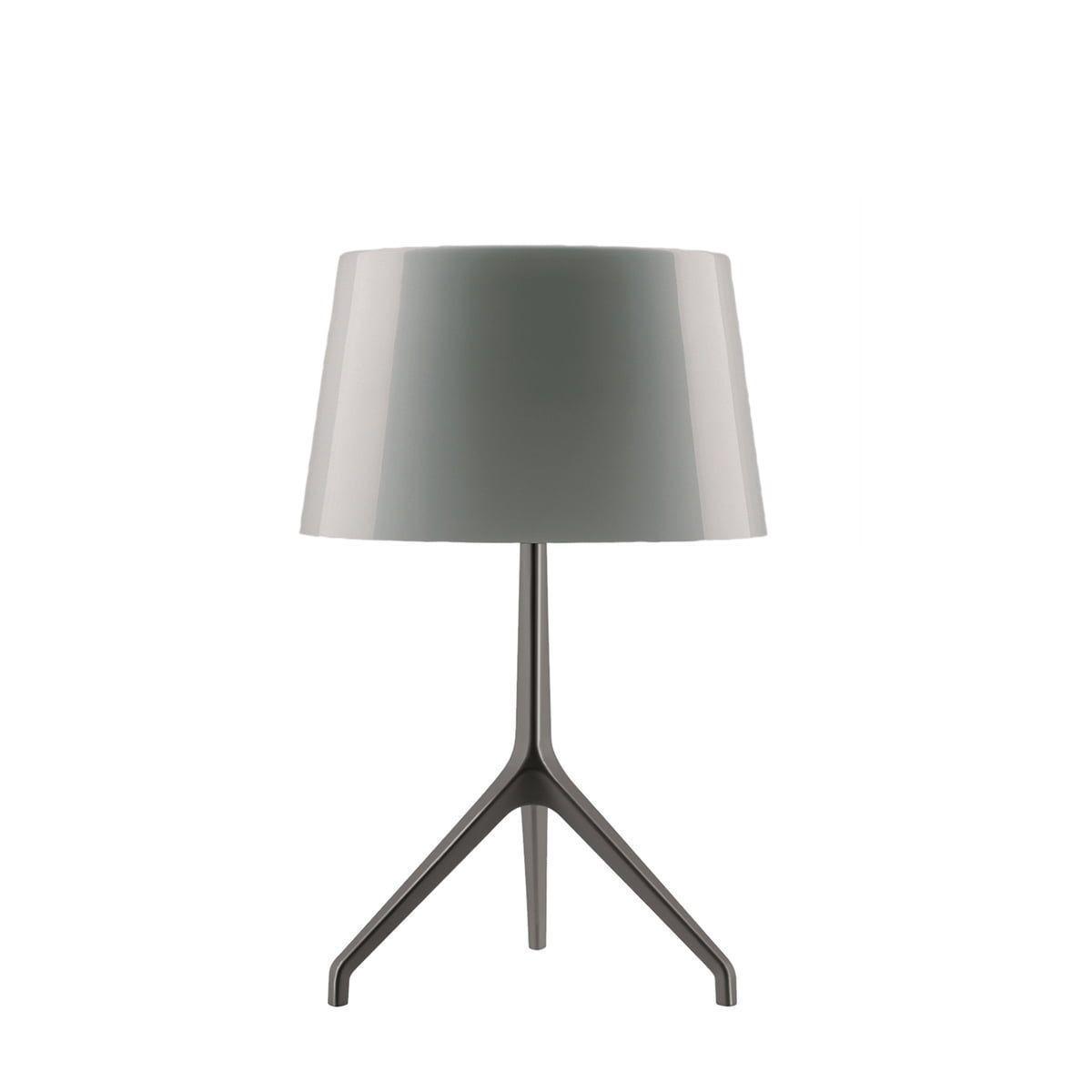 Lampa Birou Aluminium Gri