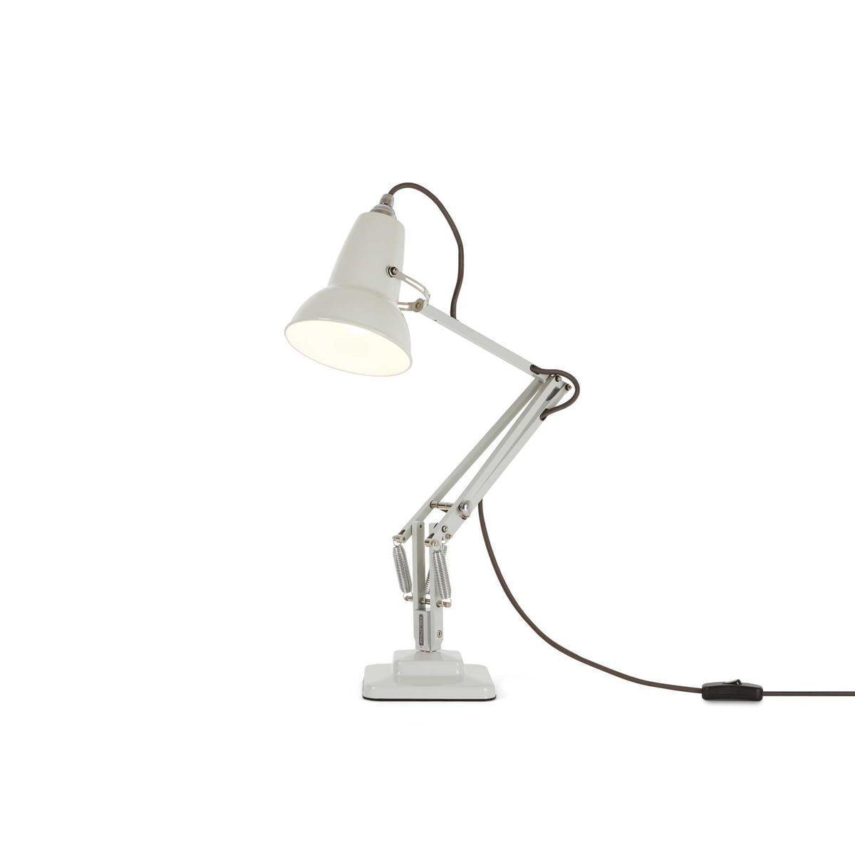 Lampa Birou Mini Desk Linen Alb