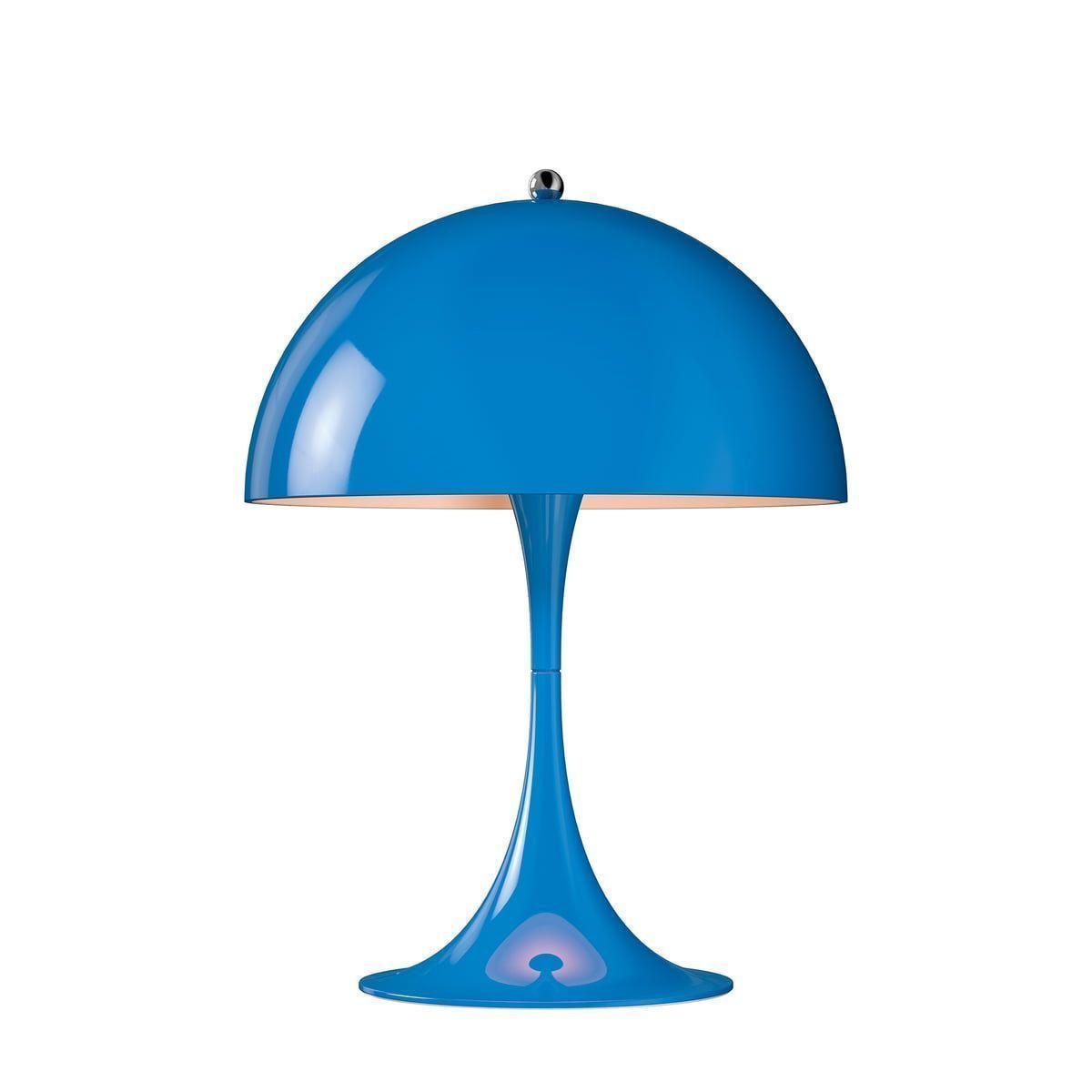 Lampa Birou Mini Albastru
