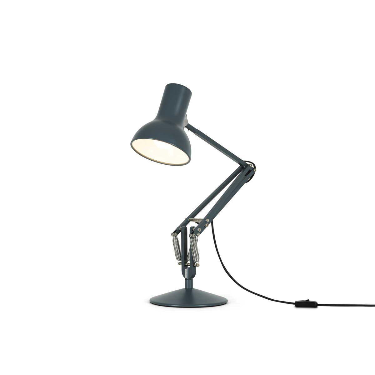 Lampa Birou Mini Desk Slate Gri