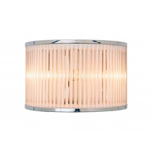 Aplica Nickel Sticla Perete Light