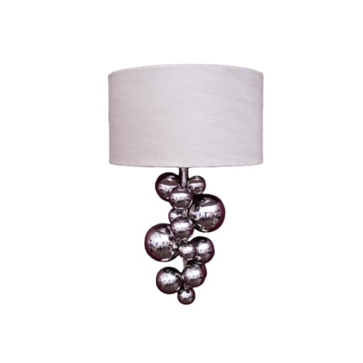 Aplica Ayla Nickel Perete Lamp