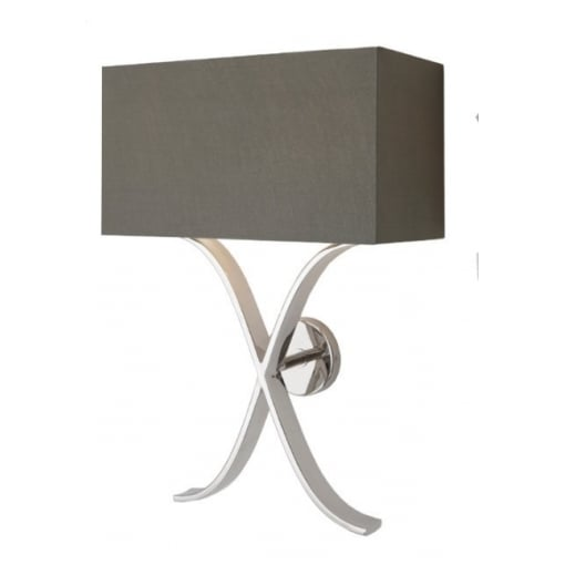 Aplica Byton Nickel Perete Lamp