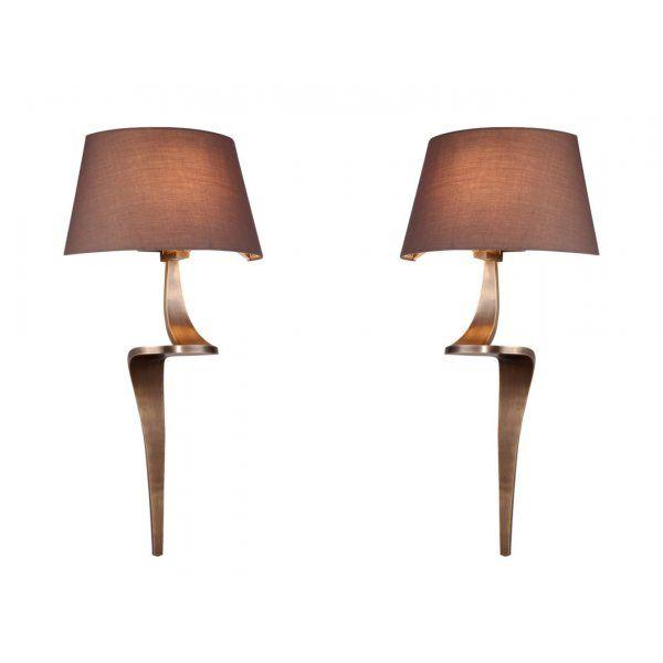 Aplica Bronzed Perete Lamps