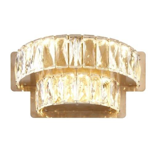 Aplica Gines Cristal Tier Perete Light