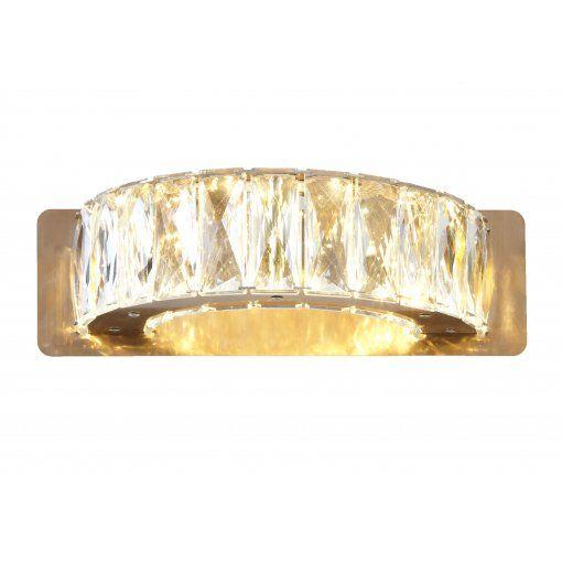 Aplica Ginnes Cristal Perete Light