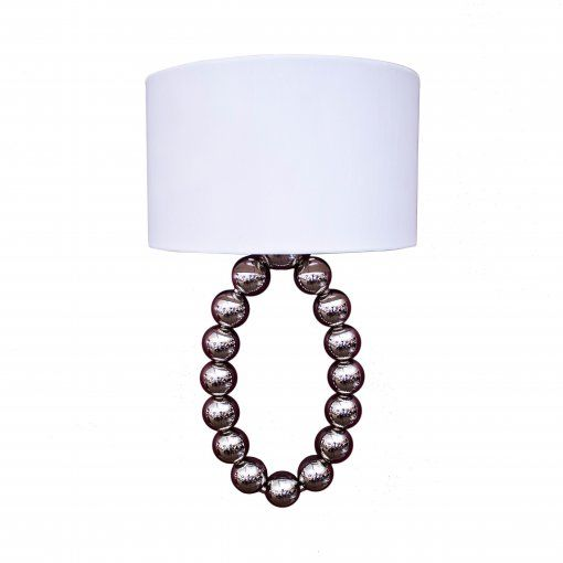 Aplica Layla Nickel Perete Lamp