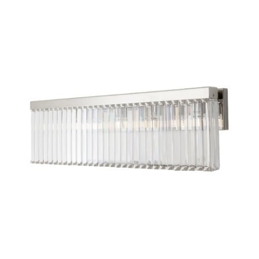 Aplica Nickel Cristal Lung Perete Light
