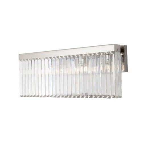 Aplica Nickel Cristal Perete Lamp