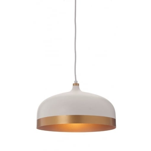 Candelabru Alb Auriu Lamp