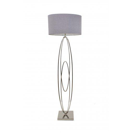 Lampadar Oval Rings Nickel