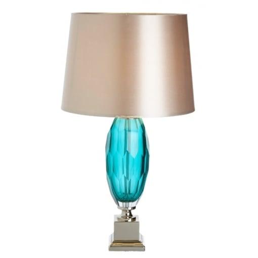 Lampa Birou Alma Aqua Sticla Base
