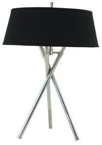 Lampa Birou Negru Tripod