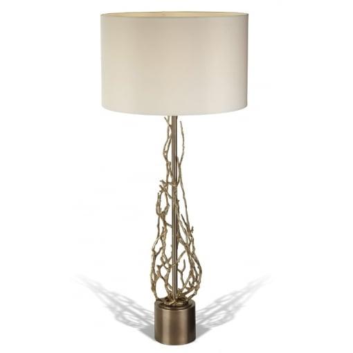 Lampa Birou Brinley Antic Cupru