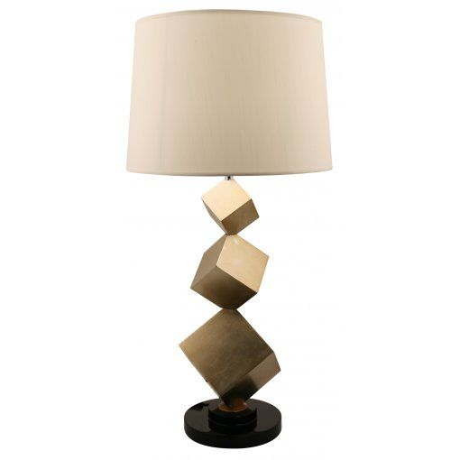 Lampa Birou Bronz Cube
