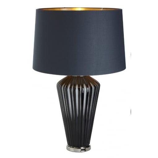 Lampa Birou Camila Gri Sticla Base