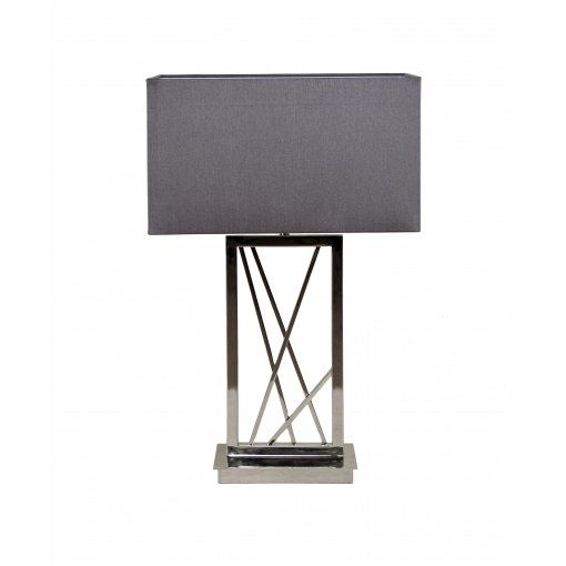 Lampa Birou Rectangular Nickel