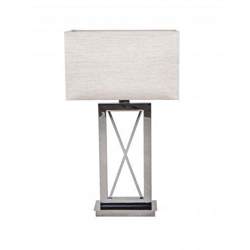Lampa Birou Negru Nickel