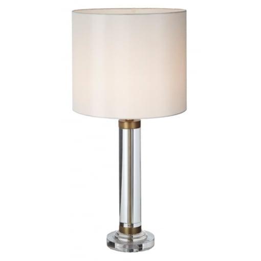 Lampa Birou Dale Cristal Antic Cupru