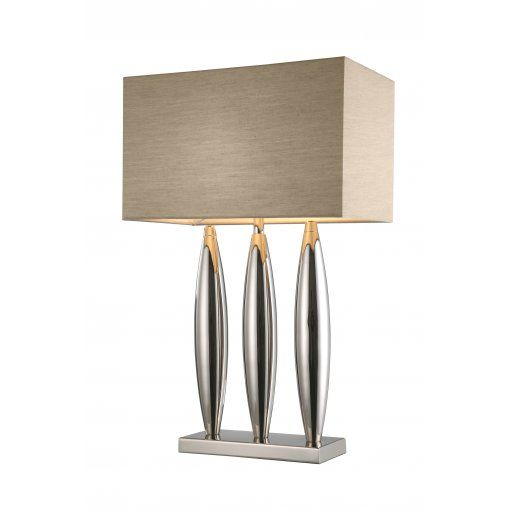 Lampa Birou Dari Nickel Tri Column Soft