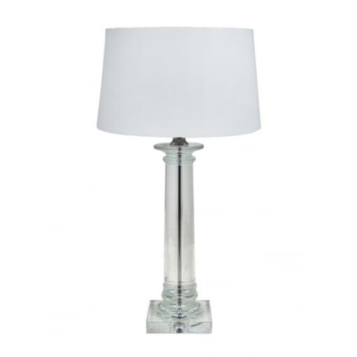 Lampa Birou Delanna Cristal Column Base
