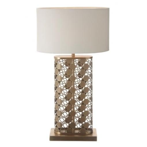 Lampa Birou Fairfield Antic Cupru