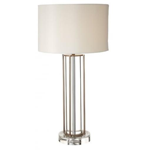 Lampa Biroue Cristal Antic Cupru