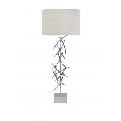 Lampa Birou Halsey Crom Contemporary Lamp