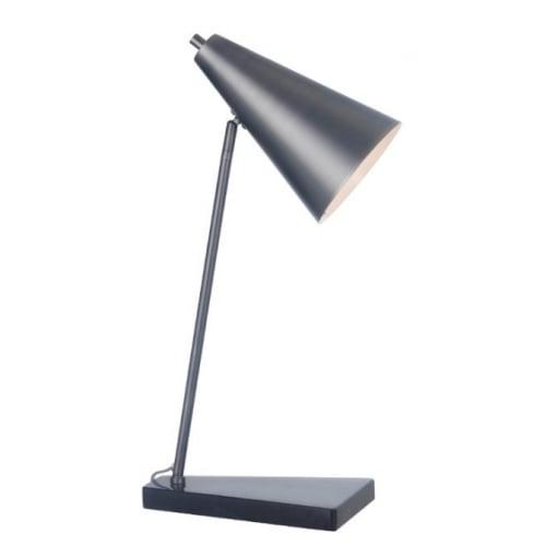 Lampa Birou Matt Negru