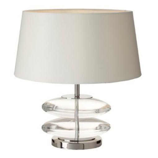 Lampa Birou Kardia Cristal Nickel