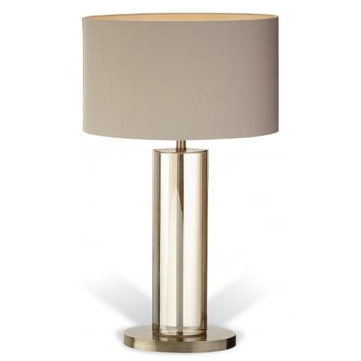 Lampa Birou Cristal Antic Cupru