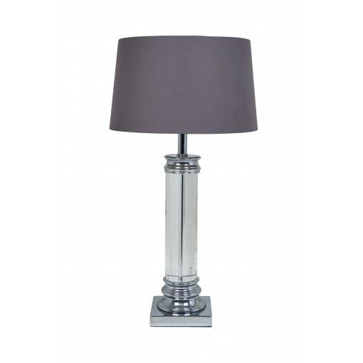 Lampa Birou Nickel Cristal Base