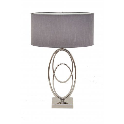 Lampa Birou Oval Rings Nickel