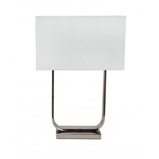 Lampa Birou Nickel Crem