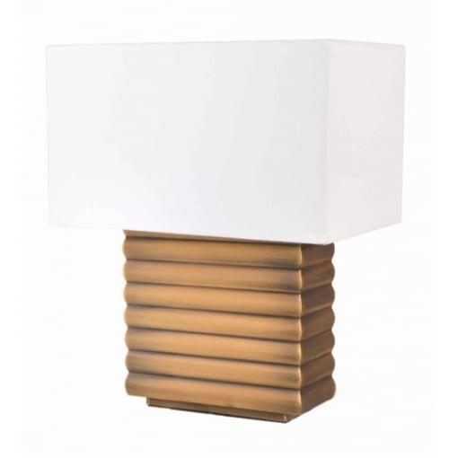 Lampa Birou Vercellece Antic Auriu
