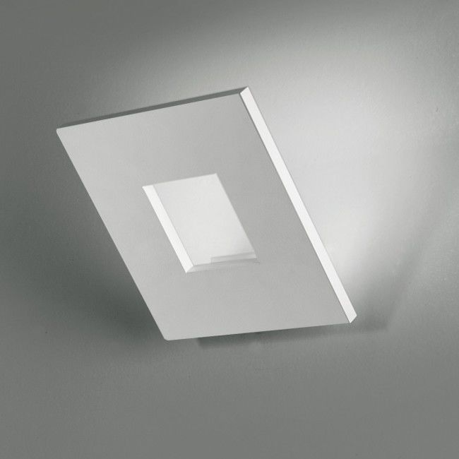 Aplica Patrat Ledabil Alluminio Alb Gri Negru Moderna