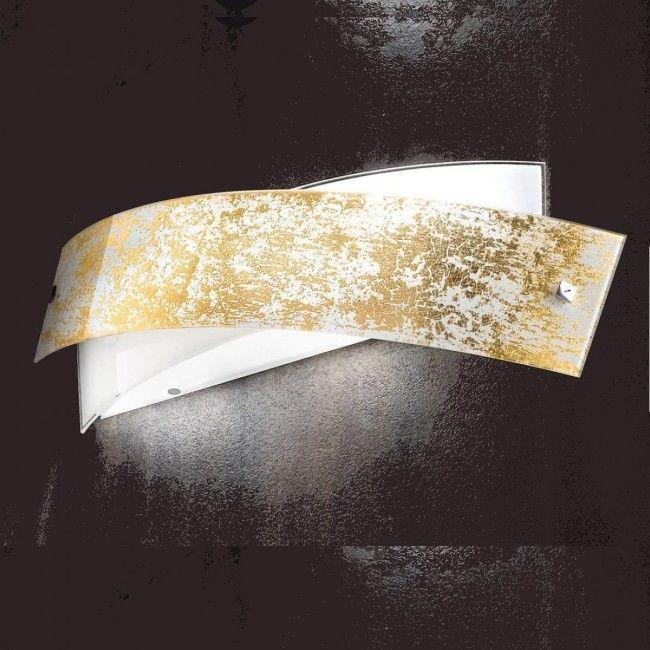 Aplica Am Led Auriu Argintiu Moderna