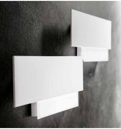 Aplica Led Aluminiu Alb Moderna