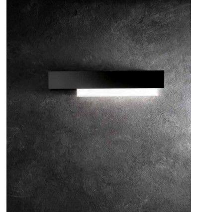 Aplica Led Aluminiu Negru Moderna