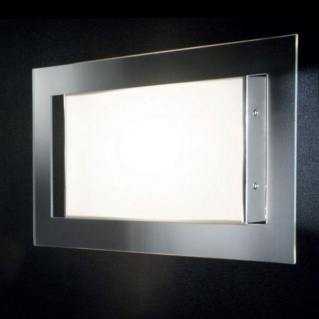 Aplica Led Pla Led Rectangular Lampa Perete Piatta Modern