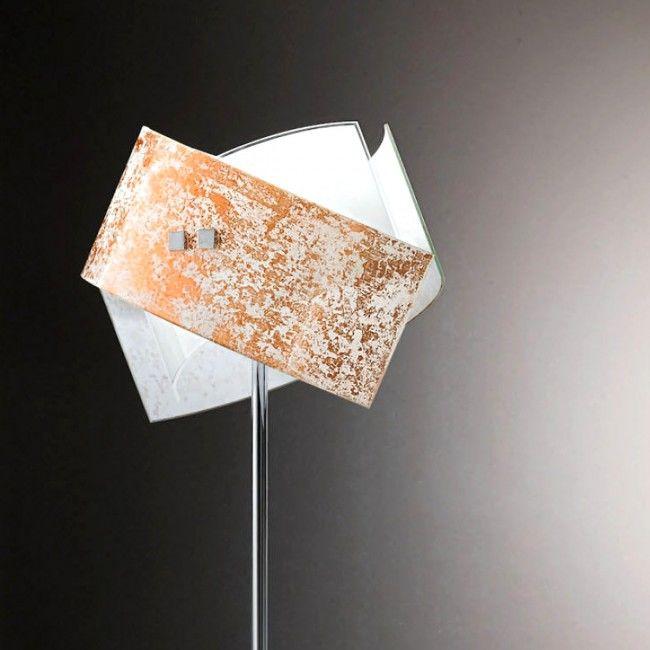 Lampadar Led Auriu Argintiu Moderna