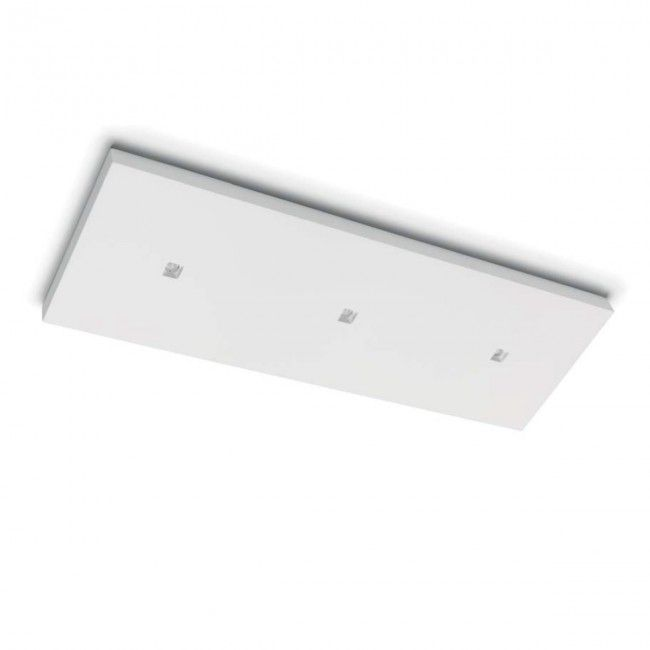 Plafoniera Led Lampada Rectangular Intern