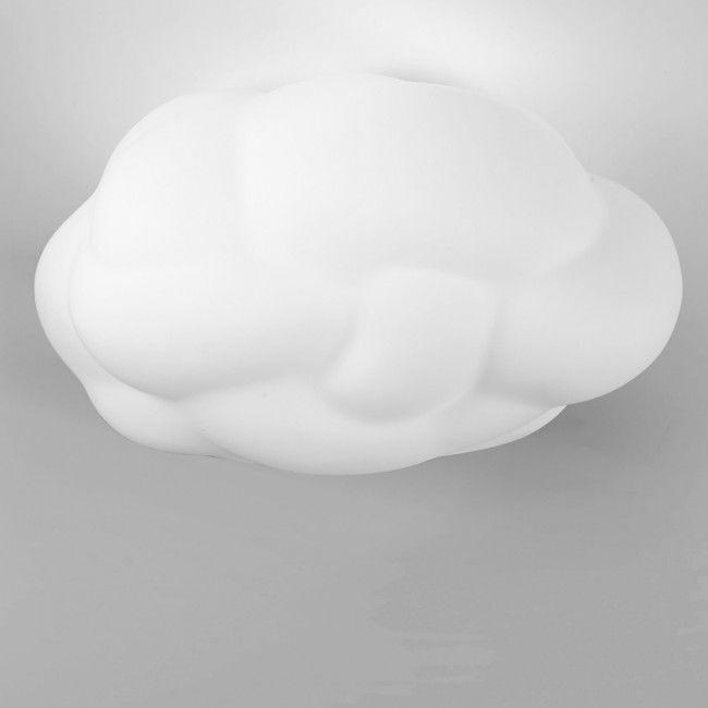 Plafoniera Nuvola Led Alb Moderna