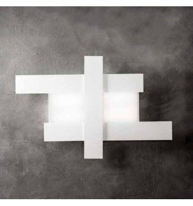 Plafoniera Led Aluminiu Alb Moderna